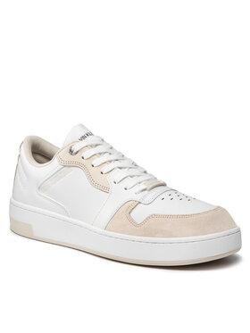 Calvin Klein Jeans Calvin Klein Jeans Sneakersy Cupsole Laceup Basket YM0YM00286 Bílá
