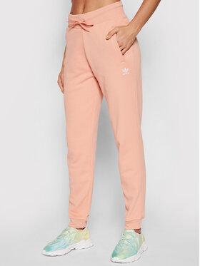 adidas adidas Pantaloni trening adicolor Essentials H37874 Roz Slim Fit