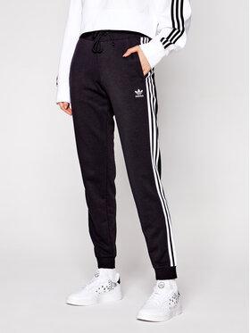 adidas adidas Spodnie dresowe Cuffed GD2255 Czarny Slim Fit