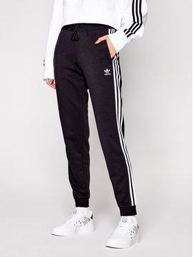 adidas adidas Sportinės kelnės Cuffed GD2255 Juoda Slim Fit