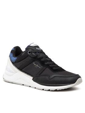 Pepe Jeans Pepe Jeans Sneakersy X20 Basic Half PMS30782 Černá