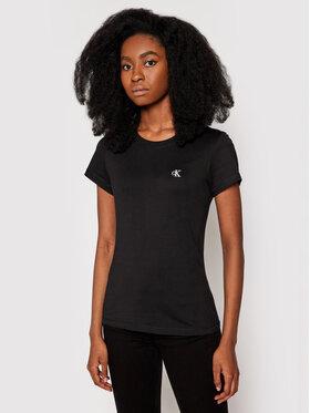 Calvin Klein Jeans Calvin Klein Jeans Tricou J20J212883 Negru Regular Fit