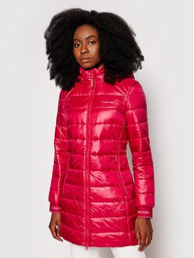 Calvin Klein Calvin Klein Vatovaná bunda Essential K20K203099 Růžová Slim Fit
