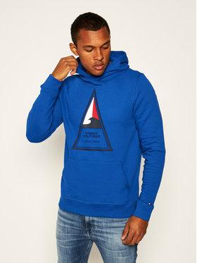 TOMMY HILFIGER TOMMY HILFIGER Bluză Th Cool Surf Artwork MW0MW13472 Albastru Regular Fit