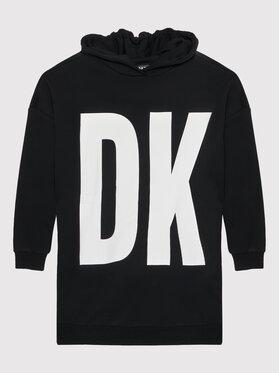 DKNY DKNY Každodenné šaty D32801 Čierna Regular Fit