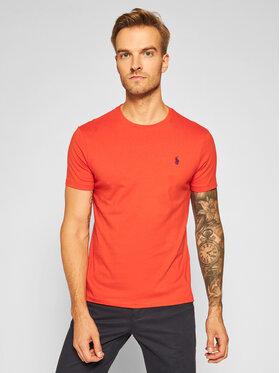 Polo Ralph Lauren Polo Ralph Lauren T-Shirt Classics 710671438159 Orange Slim Fit