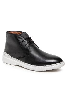 Clarks Clarks Šnurovacia obuv Dennet Mid 261629317 Čierna
