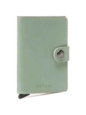 Secrid Secrid Malá dámska peňaženka Miniwallet MC Zelená