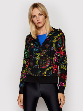 Versace Jeans Couture Versace Jeans Couture Sweatshirt 71HAI306 Schwarz Regular Fit