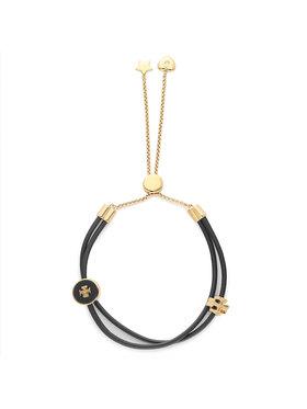 Tory Burch Tory Burch Bracelet Kira Enamel Slider Bracelet 86248 Noir
