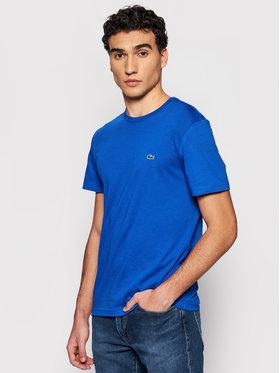 Lacoste Lacoste Marškinėliai TH2038 Mėlyna Regular Fit