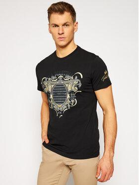 La Martina La Martina T-shirt RMR301 JS206 Nero Regular Fit