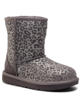 Ugg Ugg Обувки Kid's Classic II Glitter Leopard 1112388K Сив