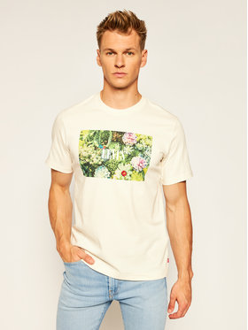 Levi's® Levi's® T-Shirt Ss Relaxed Fittee 16143-0006 Žlutá Relaxed Fit
