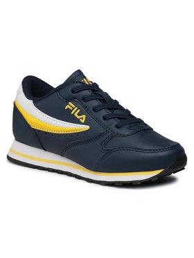 Fila Fila Sneakersy Orbit Low Kids 1010783.23D Granatowy