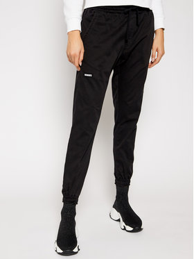 Diamante Wear Diamante Wear Joggers kalhoty Unisex Classic V3 5346 Černá Regular Fit