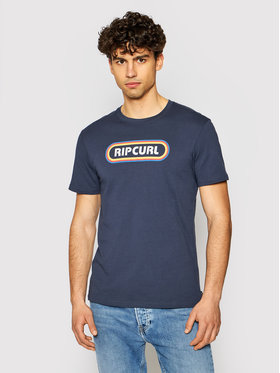 Rip Curl Rip Curl T-Shirt Surf Revival Hey Muma CTERP9 Granatowy Standard Fit