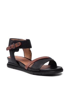 Tamaris Tamaris Sandále 1-28218-26 Čierna