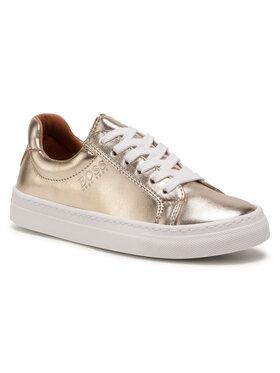 Boss Boss Sneakersy J19044 M Zlatá