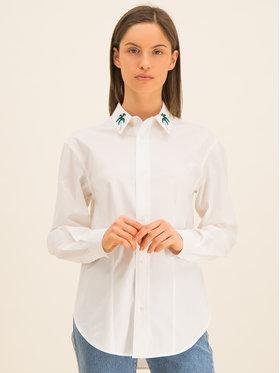 Guess Guess Košile Ls Isa W01H58 WCLQ0 Bílá Regular Fit