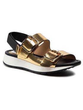 Loriblu Loriblu Sandále 1E XMI110 Zlatá