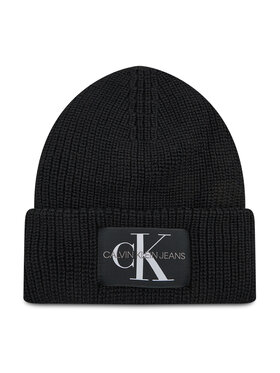 Calvin Klein Jeans Calvin Klein Jeans Čiapka Monogram Beanie Wl K50K506242 Čierna