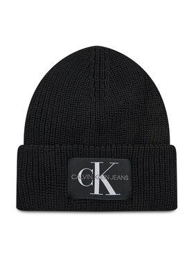Calvin Klein Jeans Calvin Klein Jeans Kepurė Monogram Beanie Wl K50K506242 Juoda