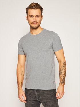 Levi's Levi's 2 marškinėlių komplektas 905055001 Pilka Regular Fit