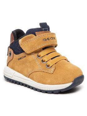 Geox Geox Зимни обувки B Alben B C B163CC 02213 C2117 M Кафяв