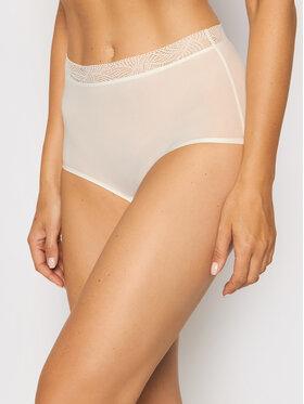 Chantelle Chantelle Класически бикини с висока талия Soft Stretch C11G70 Бял