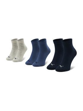 Puma Puma Sada 3 párů pánských vysokých ponožek 271080001 Šedá