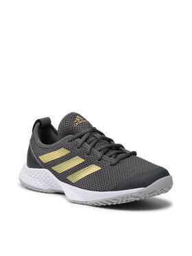 adidas adidas Обувки Court Control H00943 Сив