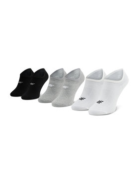 4F 4F Lot de 3 paires de socquettes homme H4L21 SOM005 Multicolore
