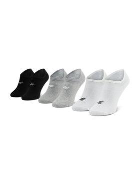 4F 4F Súprava 3 párov krátkych pánskych ponožiek H4L21 SOM005 Farebná