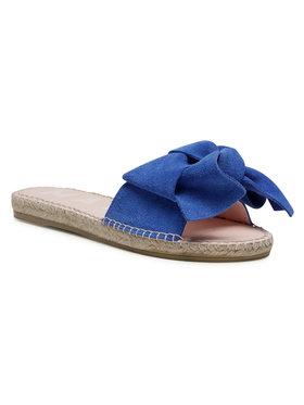 Manebi Manebi Espadrilės Sandals With Bow M 3.5 J0 Mėlyna