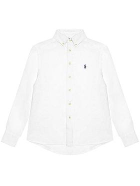 Polo Ralph Lauren Polo Ralph Lauren Marškiniai Ls Bd 323832109001 Balta Regular Fit