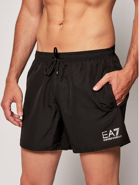 EA7 Emporio Armani EA7 Emporio Armani Pantaloncini da bagno 902000 CC721 00020 Nero Regular Fit