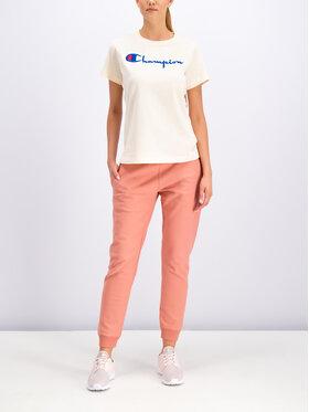 Champion Champion Teplákové kalhoty Reverse Weave 111573 Oranžová Regular Fit