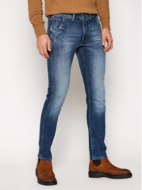 Lee Lee Jeansy Slim Fit Luke L70NPLMK Granatowy Slim Fit