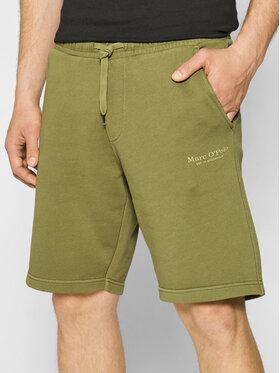 Marc O'Polo Marc O'Polo Sportske kratke hlače 123 4100 17012 Zelena Shaped Fit