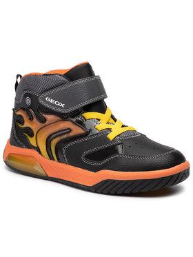 Geox Geox Sneakersy J Inek B. C J949CC 0BU11 C0038 DD Černá