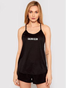 Calvin Klein Performance Calvin Klein Performance Top Mesh Tank 00GWS1K198 Czarny Regular Fit