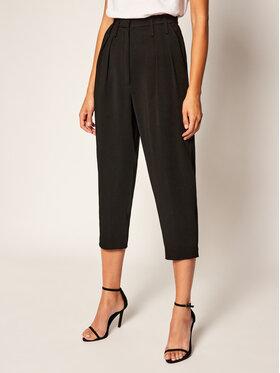 IRO IRO Панталони тип кюлоти Loving AN050 Черен Relaxed Fit