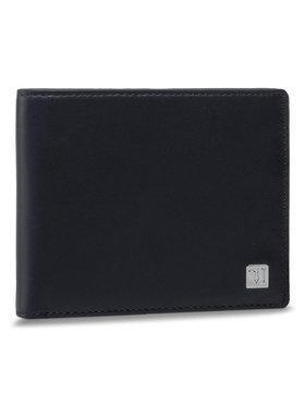 Trussardi Trussardi Große Herren Geldbörse Wallet Credit Card 71W00005 Dunkelblau