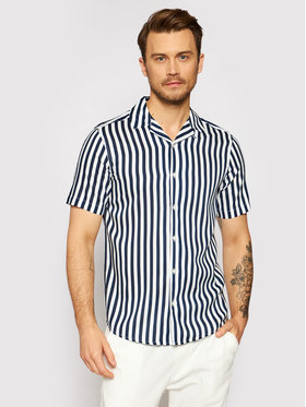 Only & Sons Only & Sons Camicia Wayne 22013267 Blu scuro Regular Fit