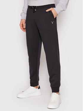 Gant Gant Spodnie dresowe Original 2049009 Czarny Regular Fit