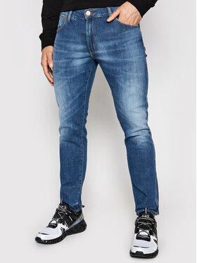 Wrangler Wrangler Jeansy Larston W18SQ148R Niebieski Slim Fit