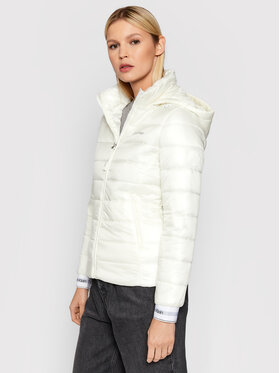Calvin Klein Calvin Klein Vatovaná bunda Essential K20K202994 Bílá Regular Fit