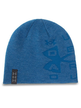 Under Armour Under Armour Шапка Lboard Reversible Beanie 1356709-428 Син