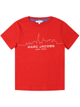 Little Marc Jacobs Little Marc Jacobs T-Shirt W25412 Czerwony Regular Fit